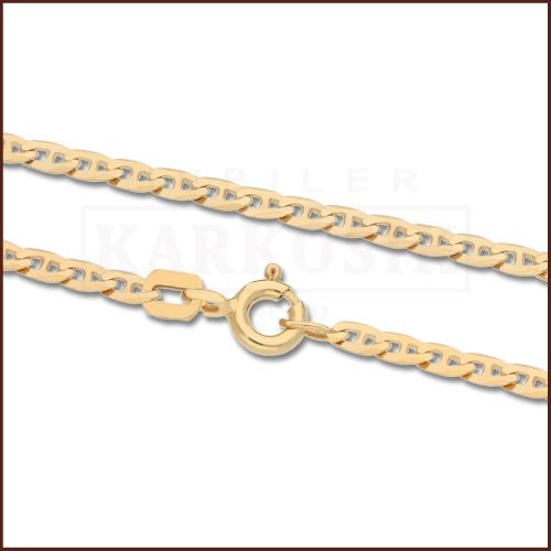 Złoty Łańcuszek Gucci 60 cm pr. 585