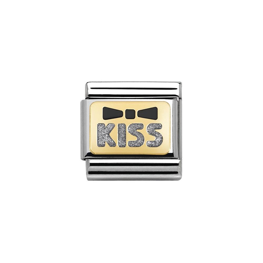 Nomination - Link 18K Kiss 030280/36