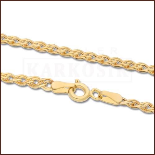 Złoty Łańcuszek Nonna 45 cm pr. 585