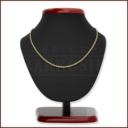 Złoty Łańcuszek Kordel 42cm pr. 585