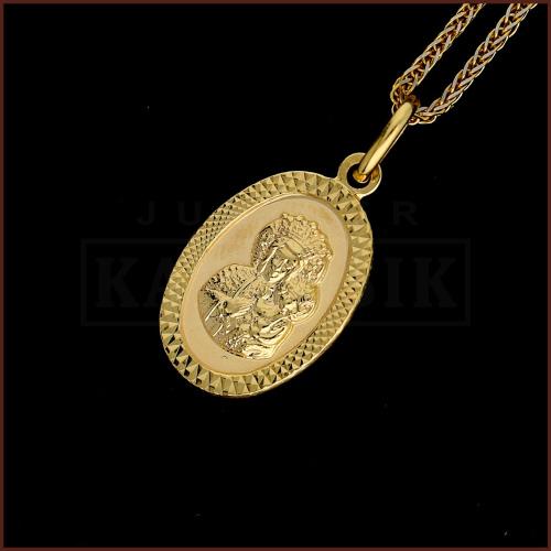 Zawieszka Złoty Medalik pr.333