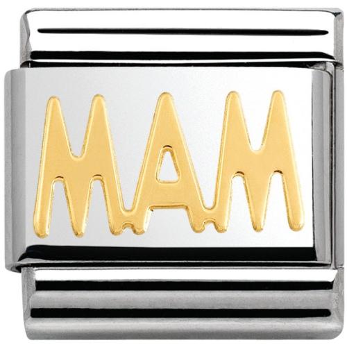 Nomination - Link 18K Gold Mam 030107/22