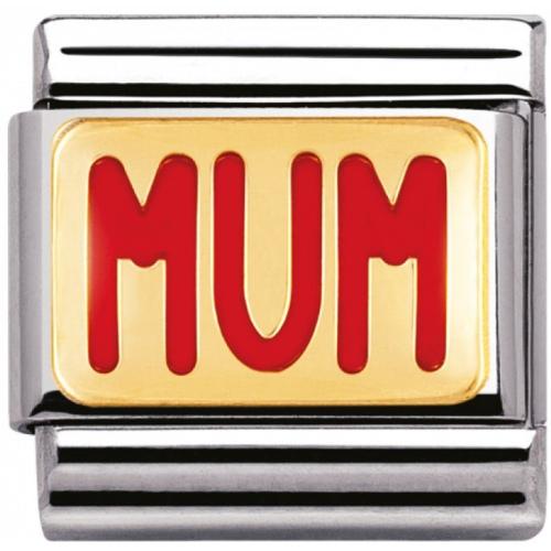 Nomination - Link 18K Gold 'Mum' 030229/39