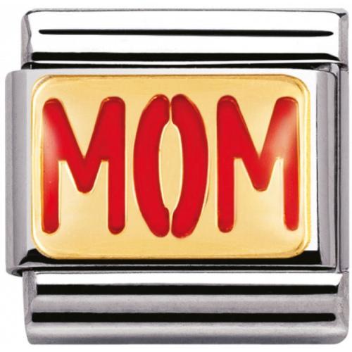 Nomination - Link 18K Gold Mom 030229/07
