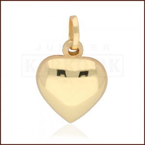 Złota Zawieszka Serce pr.585