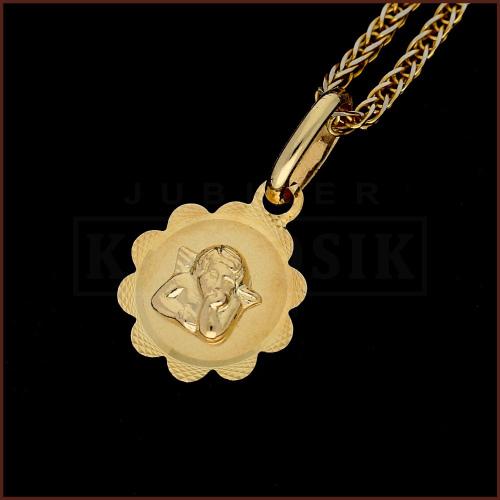 Złota Zawieszka Medalik pr.585