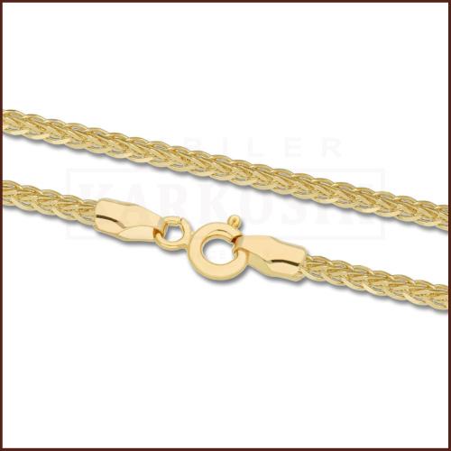 Złoty Łańcuszek Lisi Ogon 45cm pr. 585