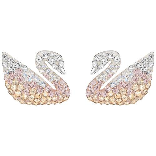 Kolczyki Swarovski - Iconic Swan, Silver 5215037