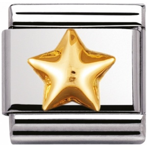 Nomination - Link 18K Gold 'Gwiazda' 030110/12