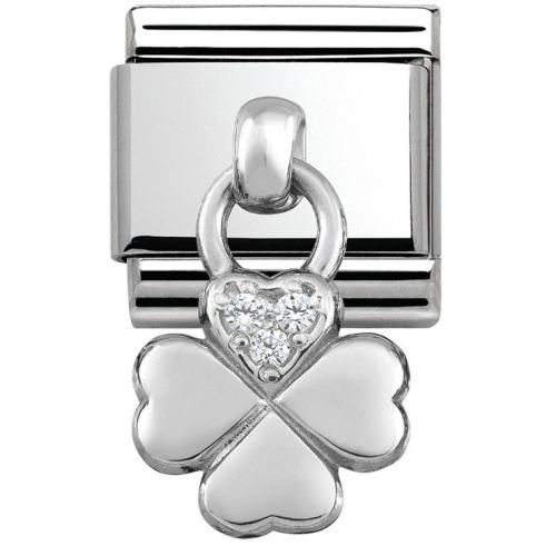 Nomination - Link 925 Silver 'Czterolistna Koniczynka' 331800/02