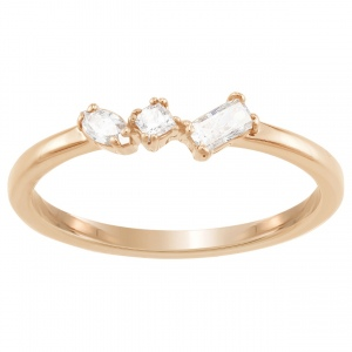 Pierścionek SWAROVSKI - Frisson Rose Gold 5357643 55
