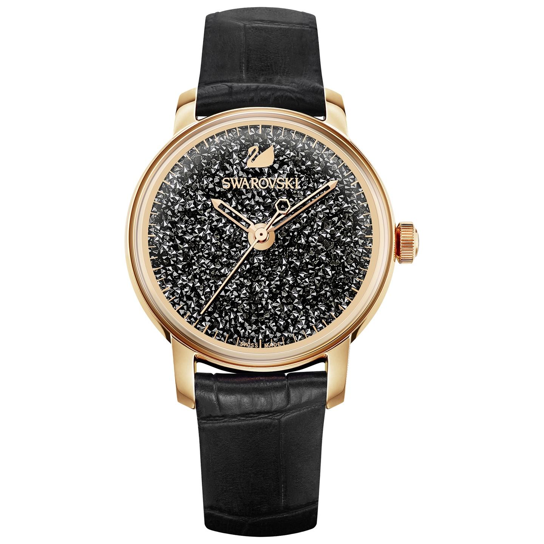 87f3b50e Zegarek Swarovski Crystalline Black 5295377 - Jubiler Karkosik