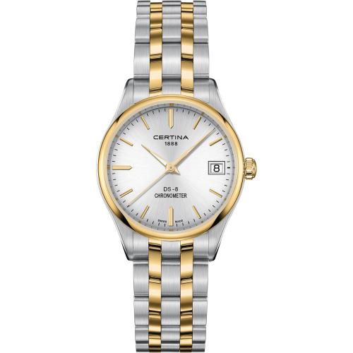 CertinaC033.251.22.031.00 DS-8 Lady COSC Chronometr