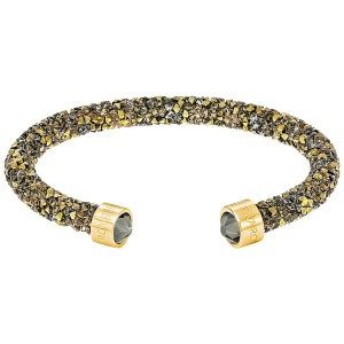 Bransoletka SWAROVSKI - Crystaldust Cuff, Multi Gold 5348101 M