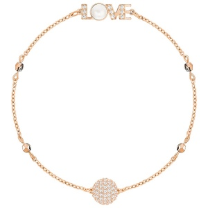 SWAROVSKI - Remix Collection Emotion, White, Rose Gold 5353846 M