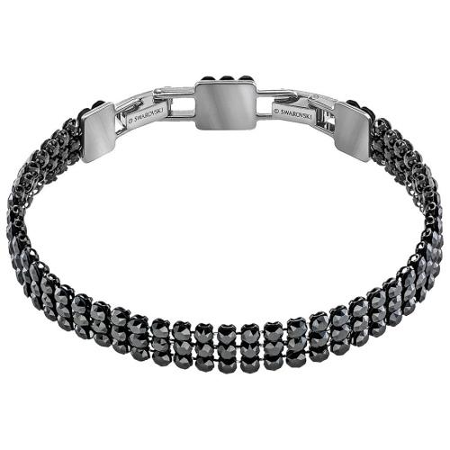 Bransoletka SWAROVSKI - Fit Bracelet, Gray 5363517