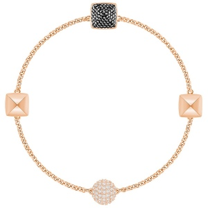SWAROVSKI - Remix Collection Spike, Black, Rose gold 5365753 M