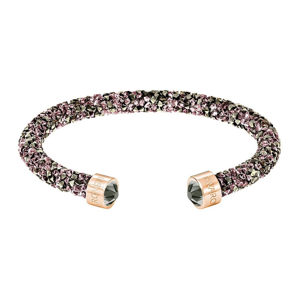 Bransoletka SWAROVSKI - Crystaldust Cuff, Multi, Rose Gold 5372882 S
