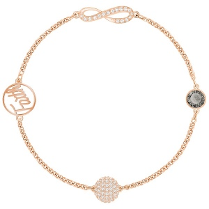 SWAROVSKI - Remix Collection Infinity, Black, Rose gold 5365734 M