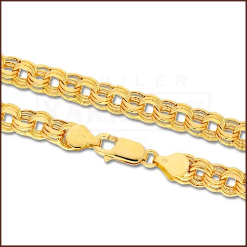 Złoty Łańcuszek 50cm pr. 585