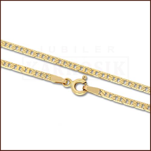Złoty Łańcuszek 55cm pr. 585