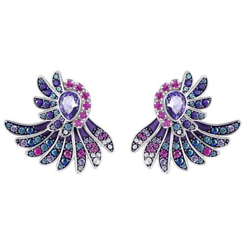Kolczyki SWAROVSKI - Hearty Jackets, Multi-colored 5288546