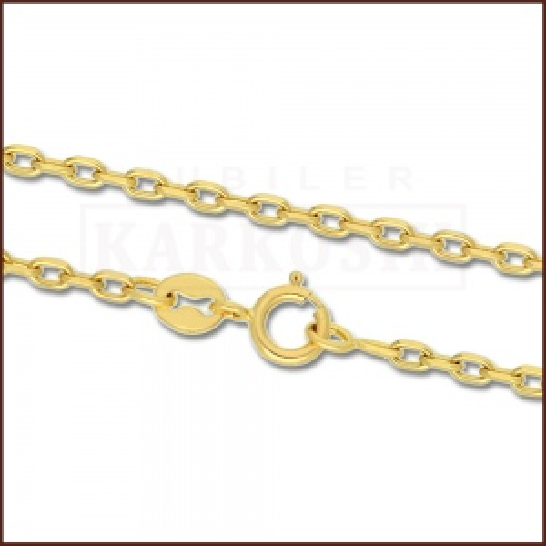 Złoty Łańcuszek Ankier 50cm pr. 585