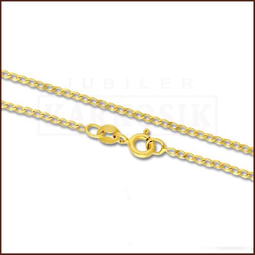 Złoty Łańcuszek Pancerka 42cm pr. 585