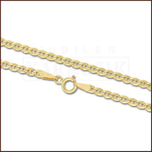 Złoty Łańcuszek Gucci 50cm pr. 585