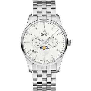 Zegarek Męski Atlantic 56555.41.21 Seasport Moonphase