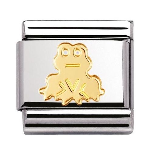 Nomination - Link 18K Gold Żaba 030113/10