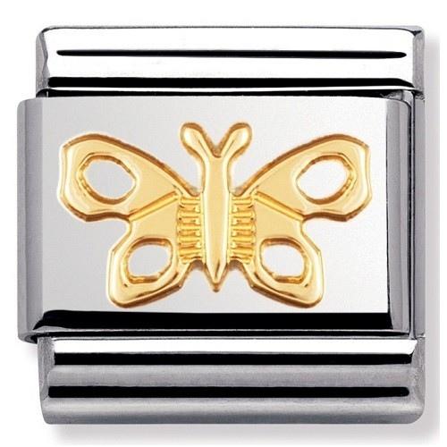 Nomination - Link 18K Gold 'Motyl' 030114/02