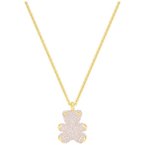 Naszyjnik SWAROVSKI - Teddy 3D, Gray, Rose gold 5300448