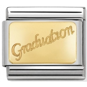 Nomination - Link 18K Gold Graudation 030121/37