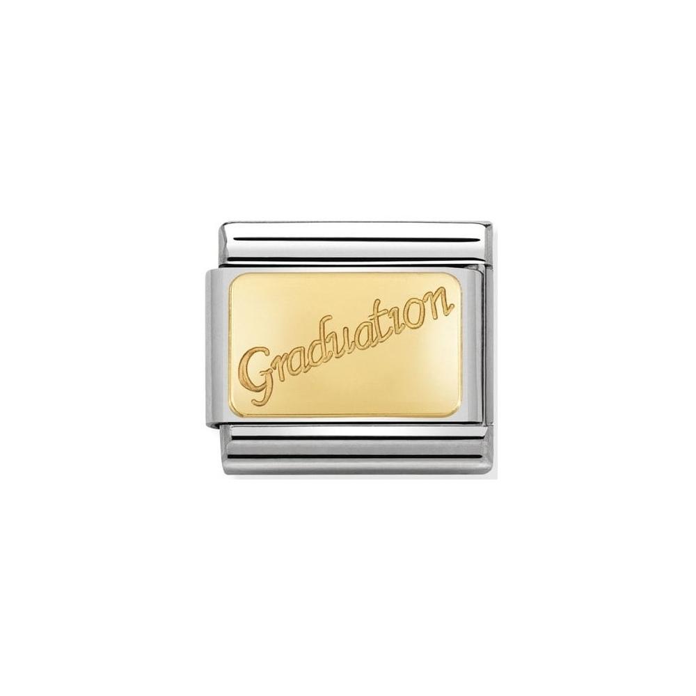Nomination - Link 18K Gold Graudation 030121/37