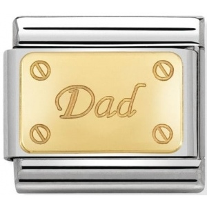 Nomination - Link 18K Gold Dad 030121/38