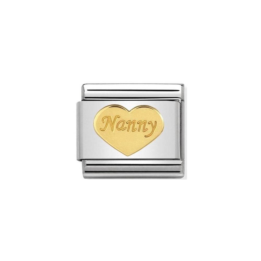Nomination - Link 18K Gold Nanny 030162/35