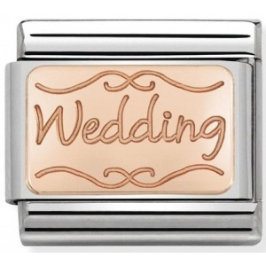 Nomination - Link 9K Rose Gold Wedding 430101/40