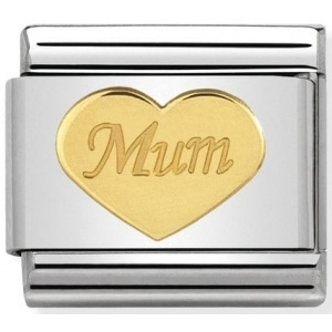 Nomination - Link 18K Gold Mum 030162/38