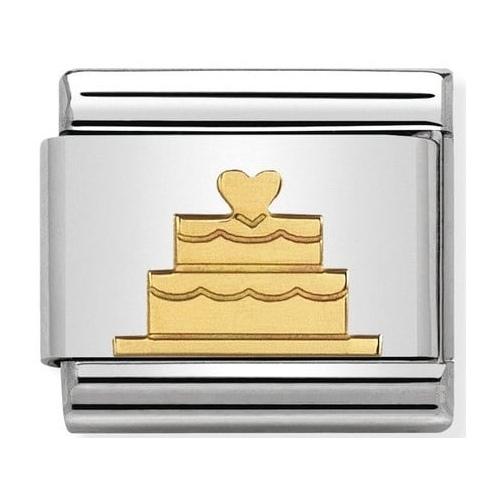 Nomination - Link 18K Gold Tort Urodzinowy 030162/40