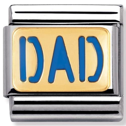 Nomination - Link 18K Gold Dad 030229/08