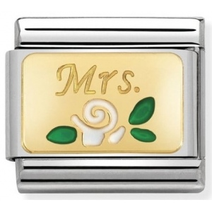 Nomination - Link 18K Gold Mrs. 030284/24