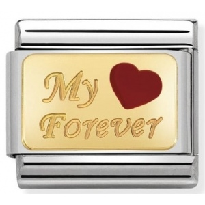 Nomination - Link 18K Gold My Forever 030284/26