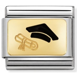 Nomination - Link 18K Gold Biret 030284/27