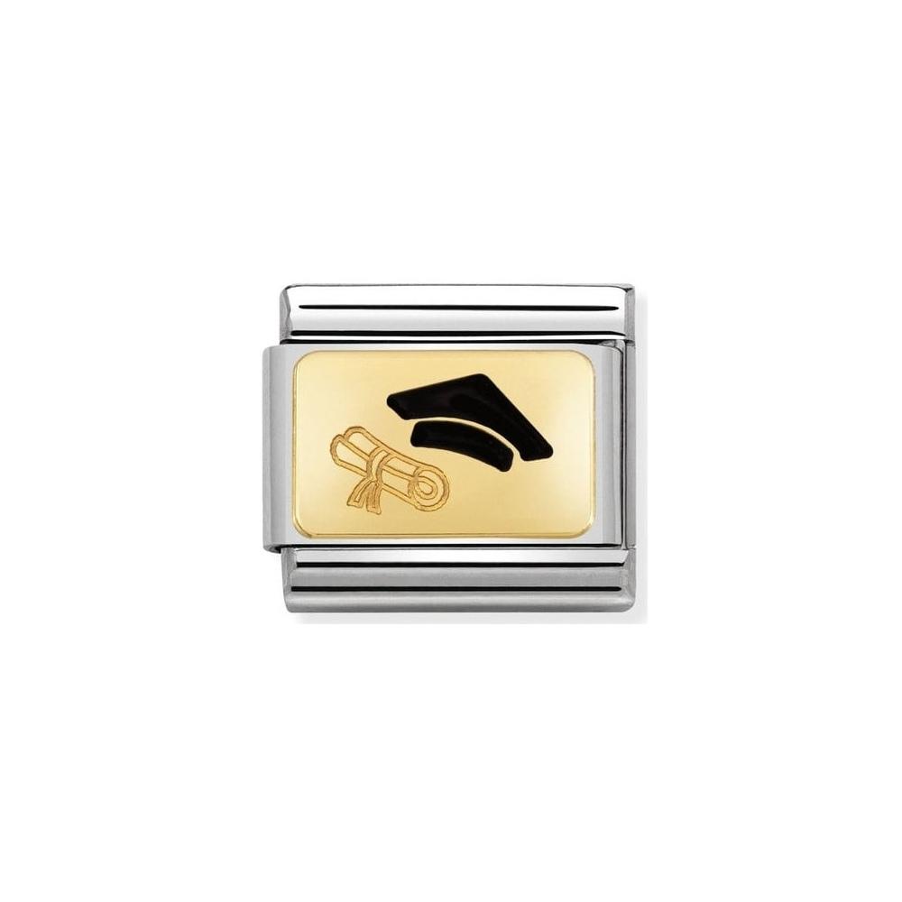 Nomination - Link 18K Gold Biret 030284/27