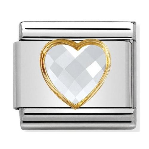 Nomination - Link 925 Silver Serce Cyrkonia 030610/010