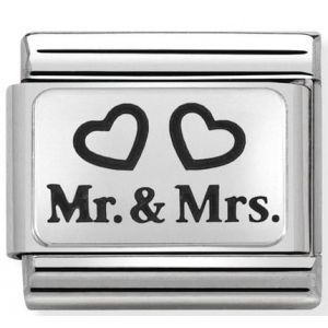 Nomination - Link 925 Silver Mr.&Mrs. 330109/01