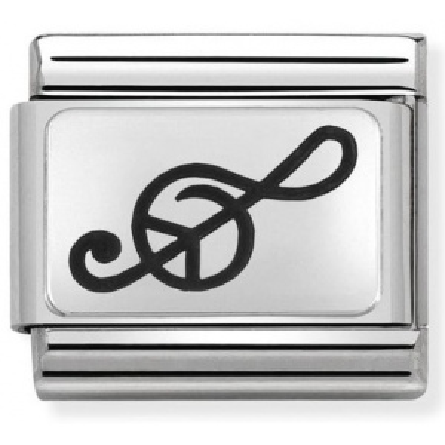 Nomination - Link 925 Silver 'Klucz Wiolinowy' 330109/04