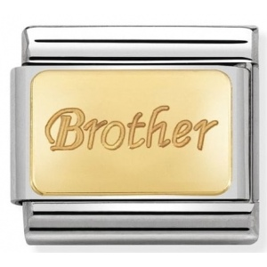 Nomination - Link 18K Gold Brother 030121/35