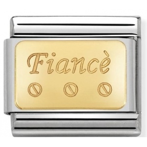 Nomination - Link 18K Gold Fiance 030121/39